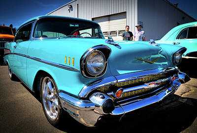 Photograph - 1957 Vintage Chevy by David Patterson