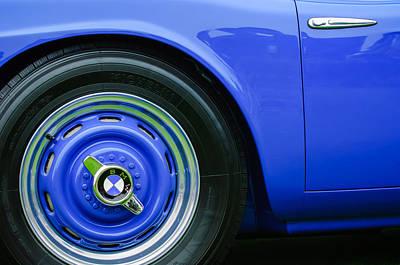 Photograph - 1958 Bmw 507 Series II Roadster Wheel Emblem -2391c by Jill Reger