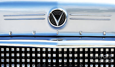 Custom Grill Photograph - 1958 Buick Roadmaster 75 by Tim Gainey