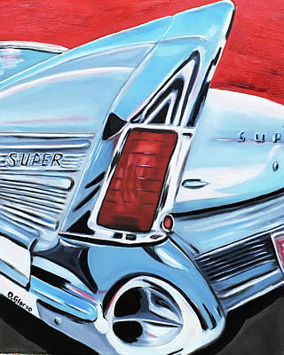 Painting - 1958 Buick Super by Dean Glorso