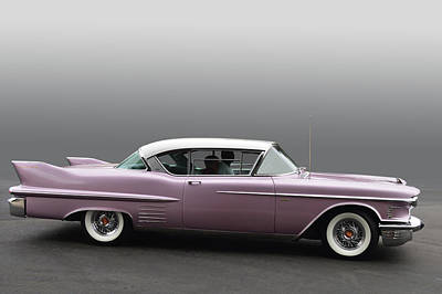 Photograph - 1958 Cadillac Coupe by Bill Dutting