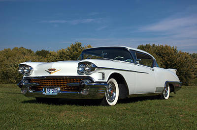 Photograph - 1958 Cadillac Eldorado by TeeMack