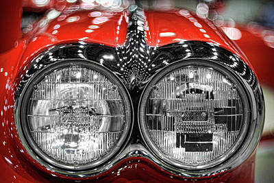 Photograph - 1958 Chevrolet Corvette  by Gordon Dean II