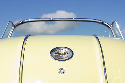 50s Photograph - 1958 Chevrolet Corvette Rear by Tim Gainey