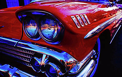 Photograph - 1958 Chevrolet Impala by Bill Jonscher