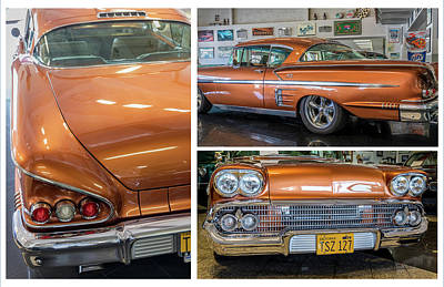Photograph - 1958 Chevrolet Impala X3 by Gene Parks