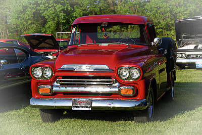 Photograph - 1958 Chevy Apache by Mike Martin