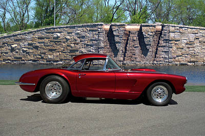 Photograph - 1958 Corvette by Tim McCullough