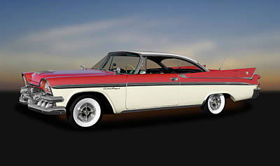 Photograph - 1958 Dodge Custom Royal Lancer Super D-500  -  1958dgeroyalsuperd500170482 by Frank J Benz