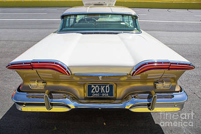 Photograph - 1958 Edsel Automobile by Kevin McCarthy