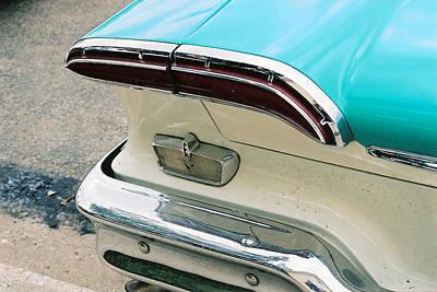 Antique Automobiles Photograph - 1958 Edsel Pacer Tail Light by Lauri Novak