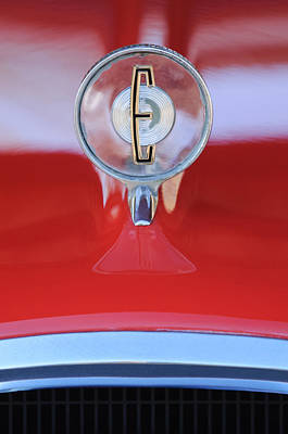 Photograph - 1958 Edsel Ranger Hood Ornament 2 by Jill Reger