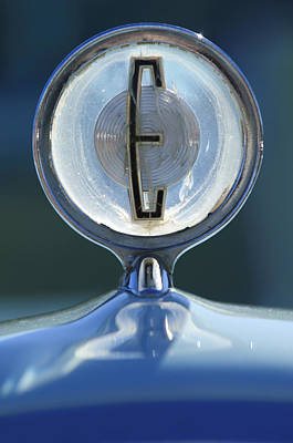 Photograph - 1958 Edsel Ranger Hood Ornament by Jill Reger