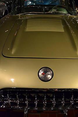 Photograph - 1958 Fancy Free Corvette J58s Front by Michelle Calkins