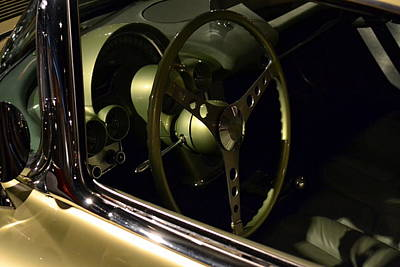 Photograph - 1958 Fancy Free Corvette J58s Interior by Michelle Calkins