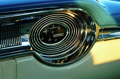Photograph - 1958 Oldsmobile 98 Dashboard by Jill Reger