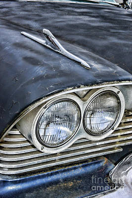 Photograph - 1958 Plymouth Belvidere Headlights by Paul Ward
