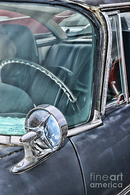 Photograph - 1958 Plymouth Belvidere Side View Mirror by Paul Ward