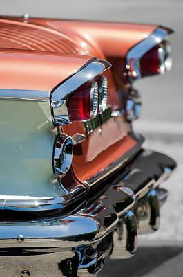 Photograph - 1958 Pontiac Bonneville Taillights by Jill Reger