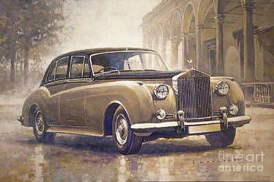 Painting - 1959-62 Rolls-royce Silver Cloud II by Yuriy Shevchuk