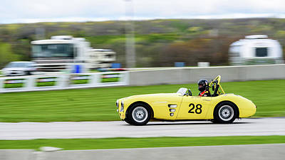 Photograph - 1959 Austin Healey 100/6 by Randy Scherkenbach
