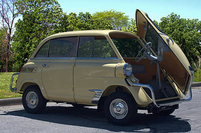 Photograph - 1959 Bmw Isetta 600  by Tim McCullough