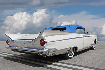 Photograph - 1959 Buick Convertible Rear by Gill Billington