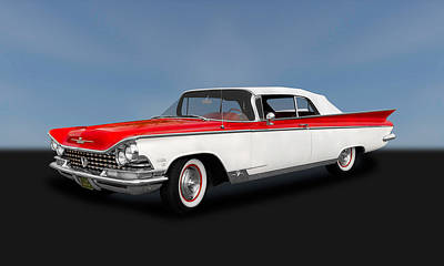 Photograph - 1959 Buick Electra 225 Convertible   -   1959buelcv120 by Frank J Benz