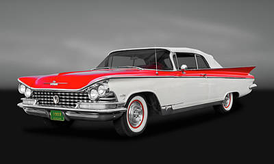 Photograph - 1959 Buick Electra 225 Convertible  -  59buickgry9712 by Frank J Benz