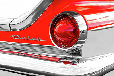 Photograph - 1959 Buick Electra 225 Convertible Rear Detail by Frank J Benz
