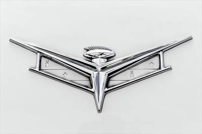 Photograph - 1959 Buick Electra 225 Convertible Trunk Badge by Frank J Benz