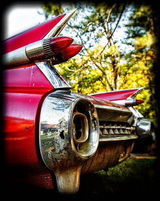 Photograph - 1959 Cadillac by Alan Raasch