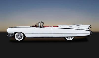 Photograph - 1959 Cadillac Eldorado Biarritz Convertible   -  1959eldoradobiarritzcv171882 by Frank J Benz