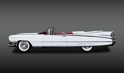 Photograph - 1959 Cadillac Eldorado Biarritz Convertible   -  59caddyeldobiarritzfa171882 by Frank J Benz