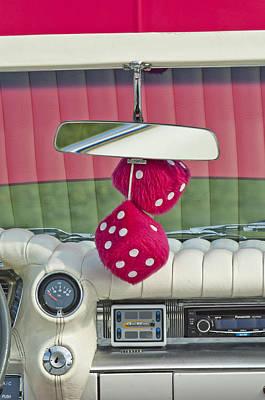 Photograph - 1959 Cadillac Eldorado Fuzzy Dice by Jill Reger