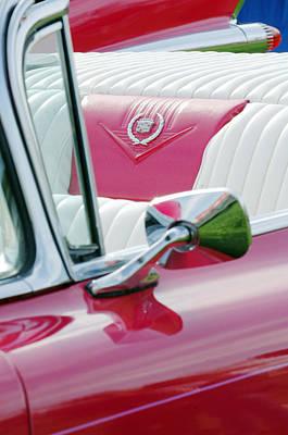 1959 Cadillac Eldorado Interior Art Print by Jill Reger