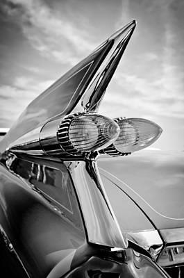 1959 Cadillac Eldorado Taillight- Pink Art Print