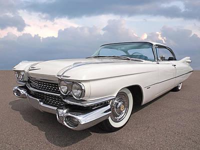 Photograph - 1959 Cadillac by Gill Billington