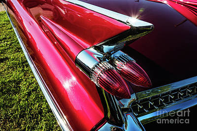 Photograph - 1959 Cadillac by M G Whittingham