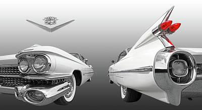 Photograph - 1959 Cadillac Panoramic by Gill Billington
