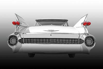 Photograph - 1959 Cadillac Rear View by Gill Billington