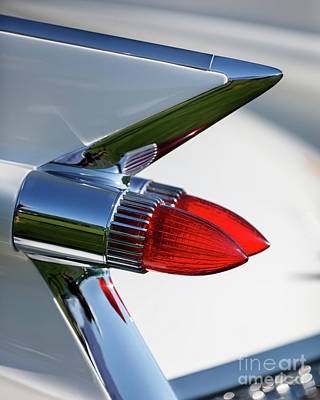 Photograph - 1959 Cadillac Taillight by Dennis Hedberg