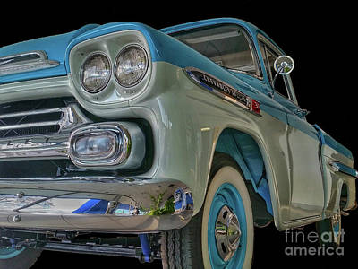Photograph - 1959 Chevrolet Apache by Tony Baca