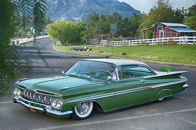 Photograph - 1959 Chevrolet  by Bill Dutting