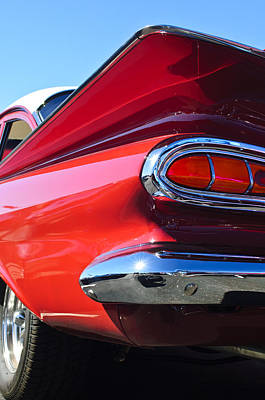 Chevrolet Biscayne Photograph - 1959 Chevrolet Biscayne Taillight by Jill Reger