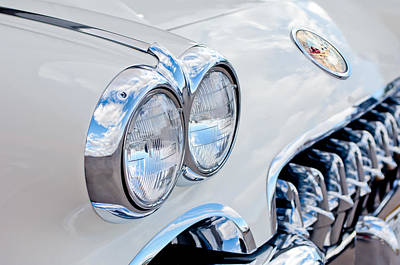 Photograph - 1959 Chevrolet Corvette Grille by Jill Reger
