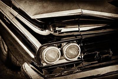 1959 Chevrolet El Camino Taillights -0463s Art Print by Jill Reger