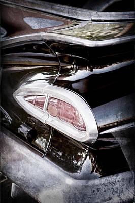 1959 Chevrolet Impala Taillight -0103ac Art Print by Jill Reger