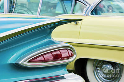 Photograph - 1959 Chevrolet Impala Taillight by Tim Gainey