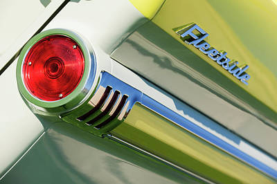 1959 Chevrolet Photograph - 1959 Chevrolet Napco Fleetside Tail Light Emblem -1564c by Jill Reger